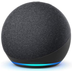 Echo Dot de cuarta generación en color negro